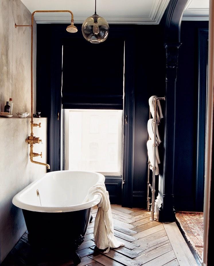 Jenna Lyons Brooklyn Bathroom