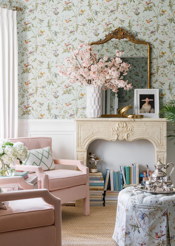 Aimee Mazzenga Living Room