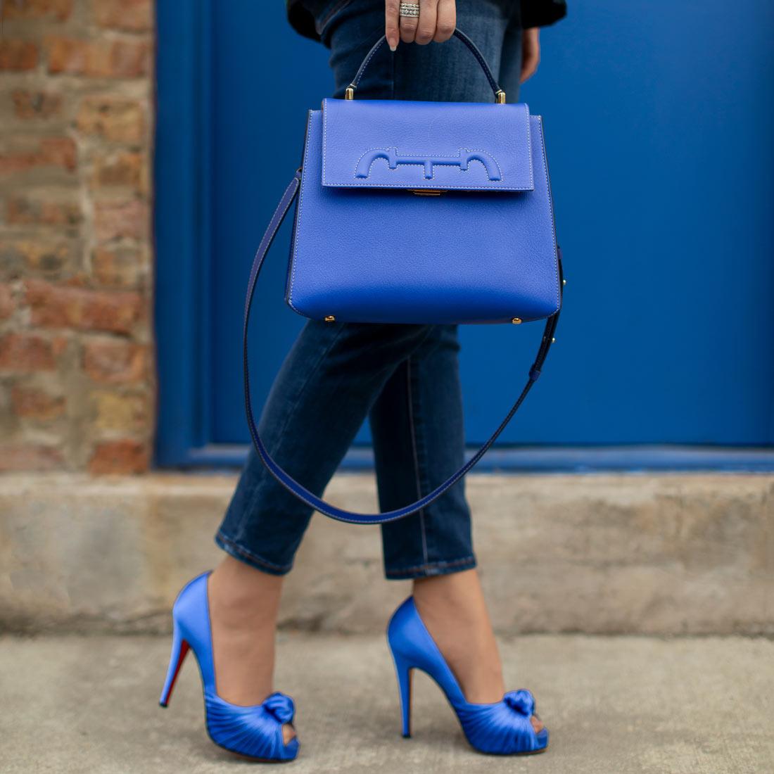 Carolina Herrera Blue Bag