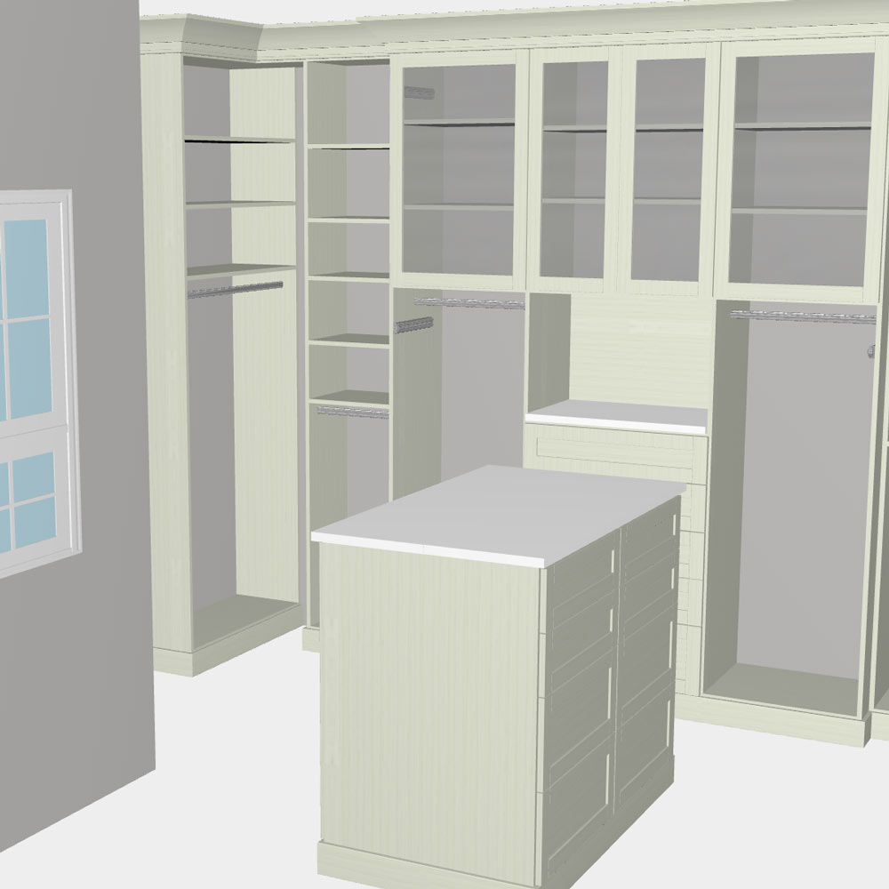 Inspired Closets Chicago 3D