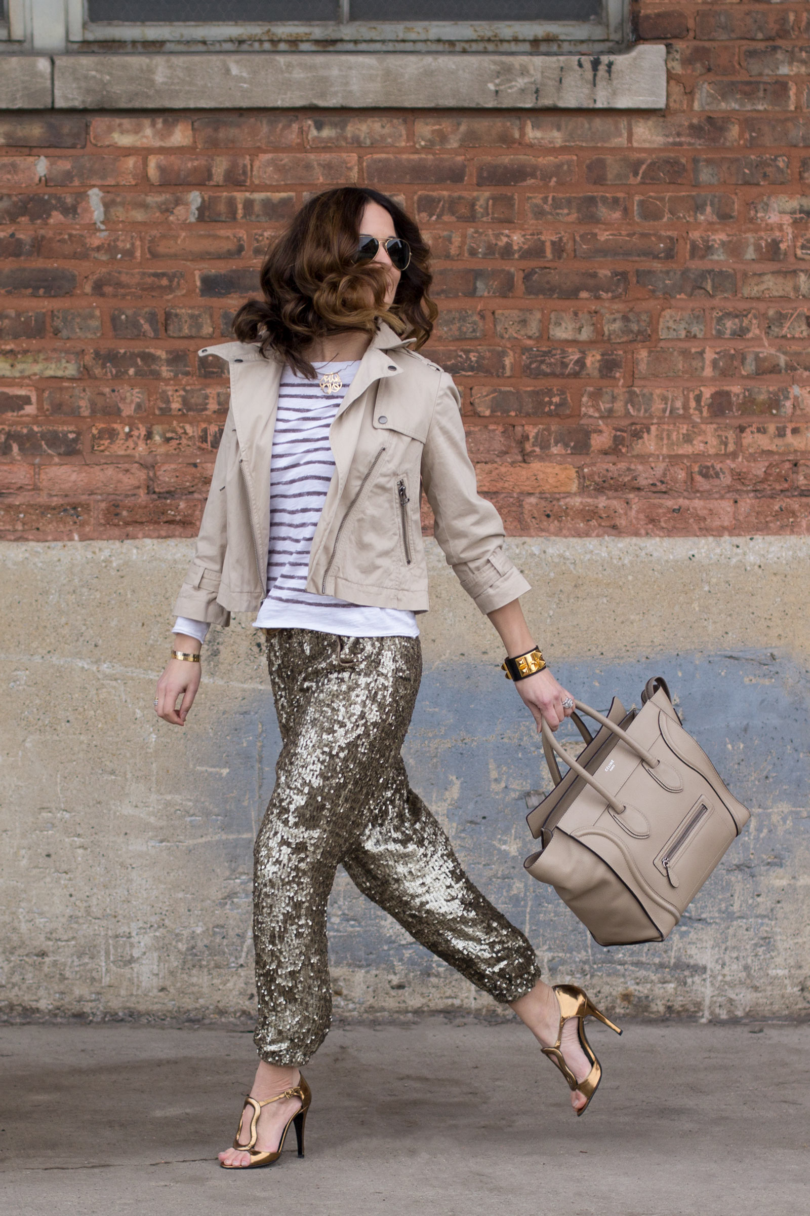 J. Crew Collection Sequin Pants