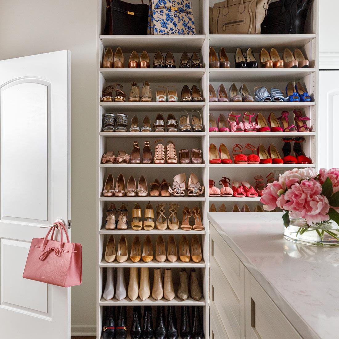 Jennifer lake Shoe Closet