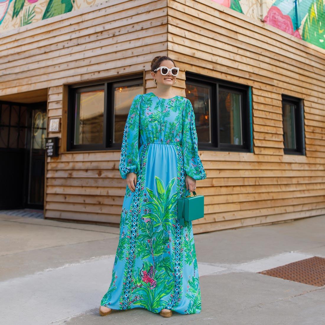 Lilly Pulitzer Aqua Dress