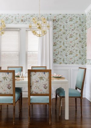 How We Chose Our Colorful Dining Room Design Ideas