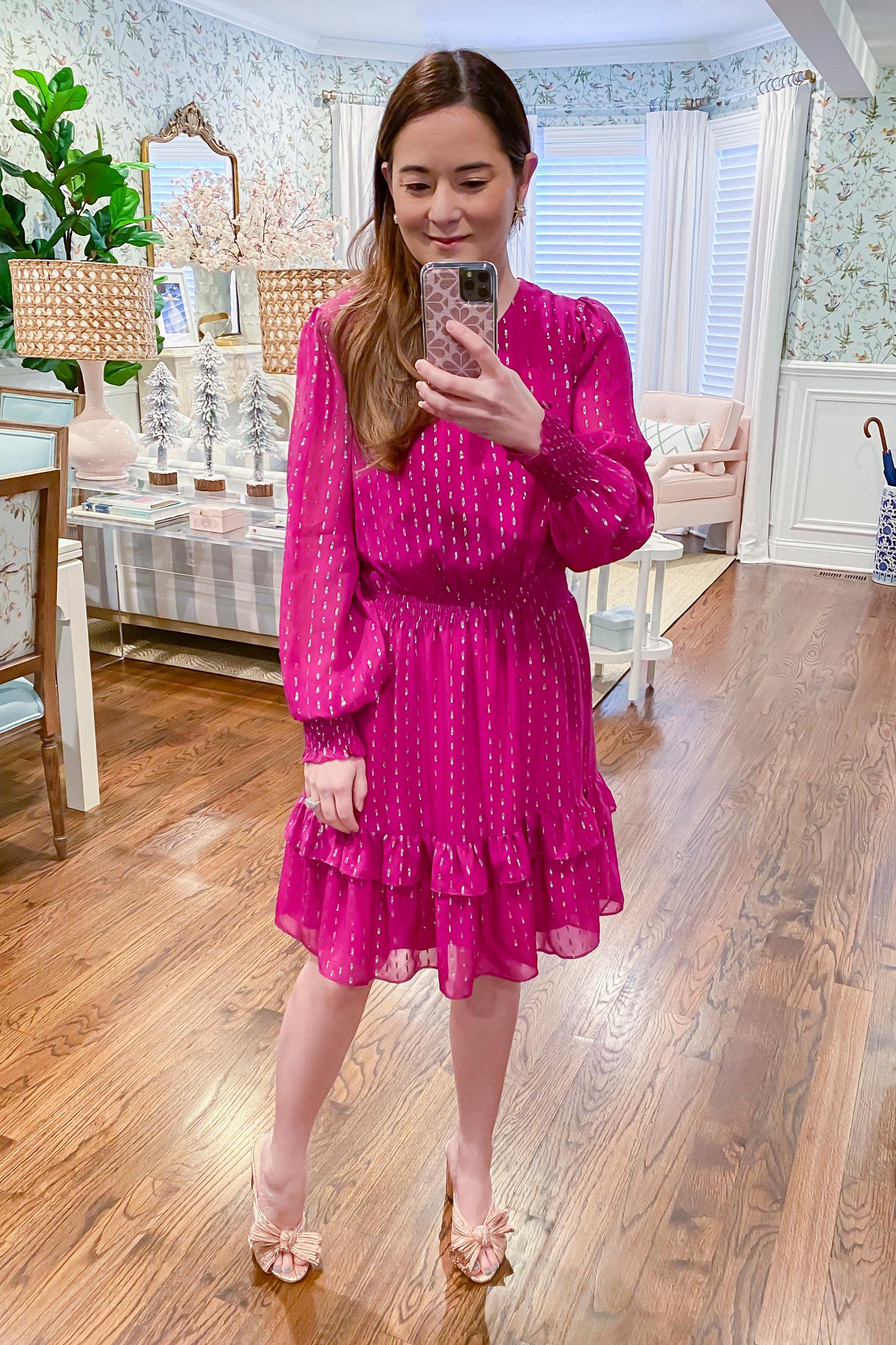 Jennifer Lake Lilly Pulitzer Dotti Dress