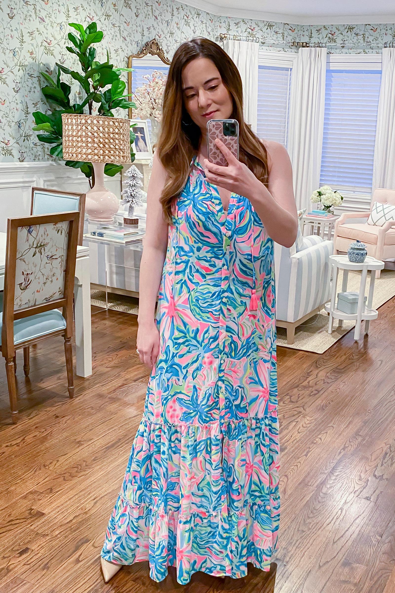 Lilly Pulitzer Luliana Swing Maxi Dress