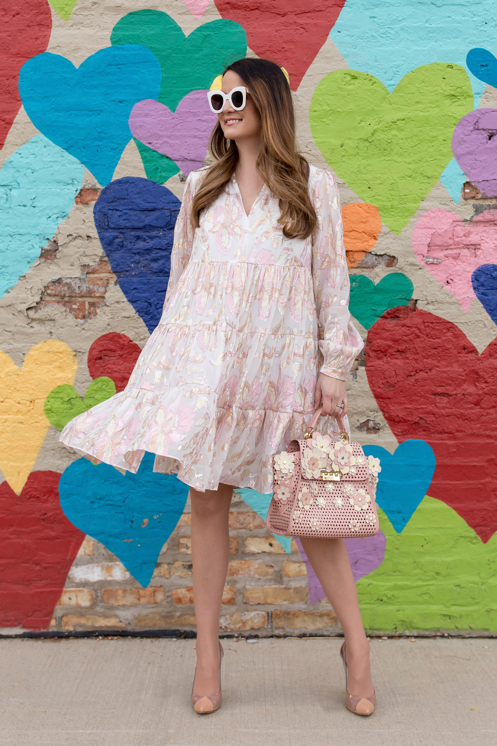 Lilly Pulitzer Pink Tiered Dress