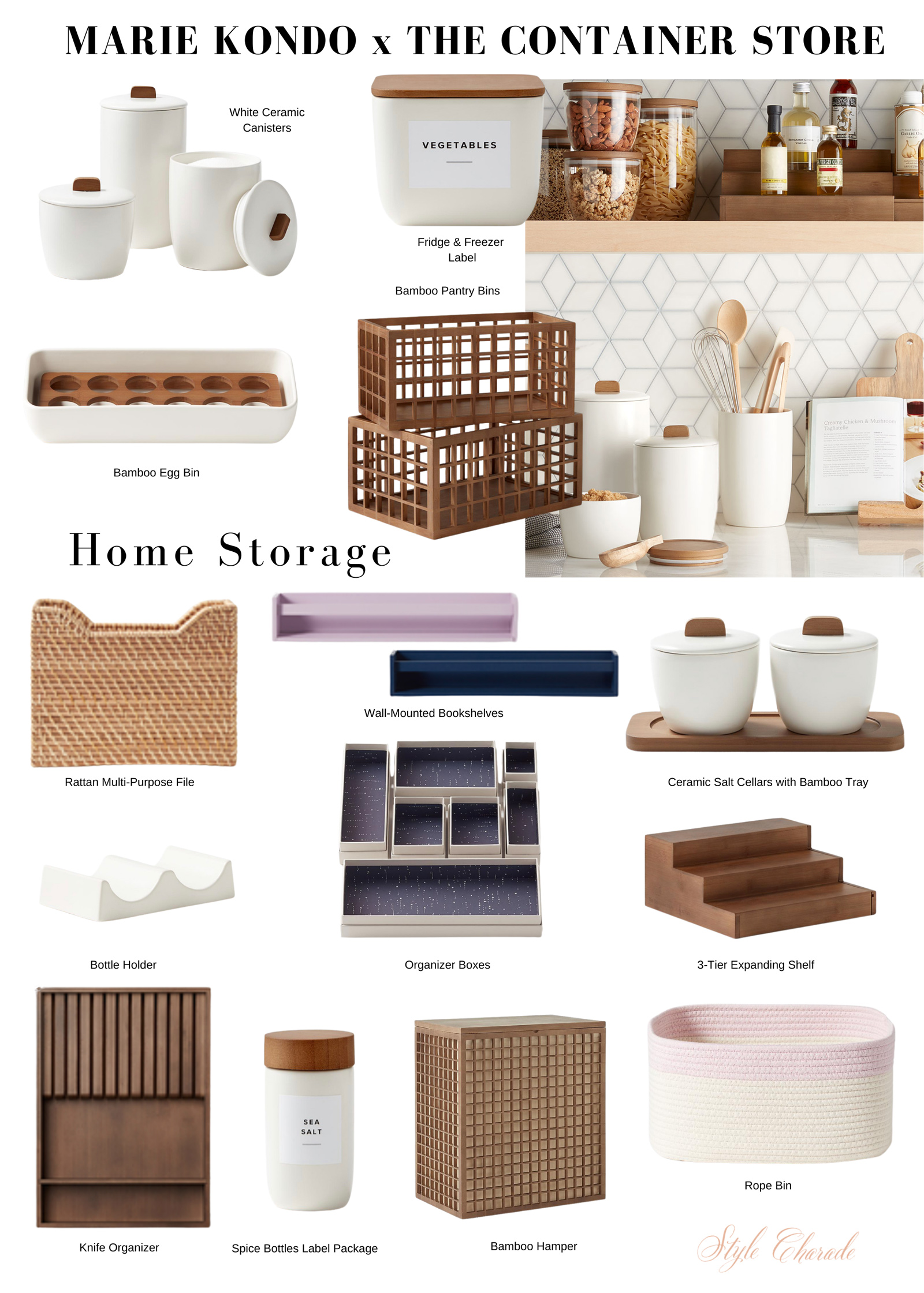 Marie Kondo Container Store Collection