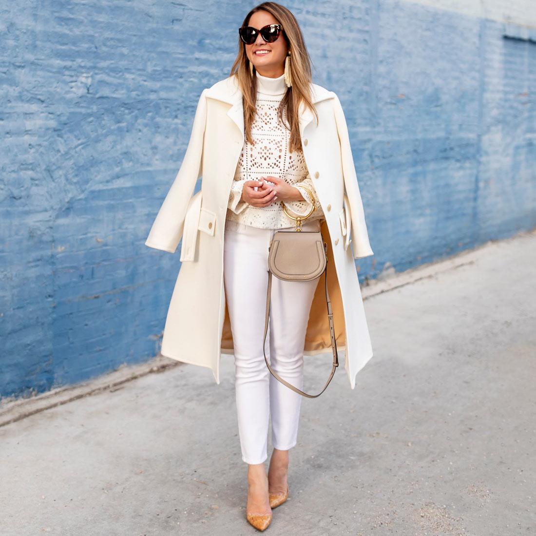 Style Charade Ivory Coat