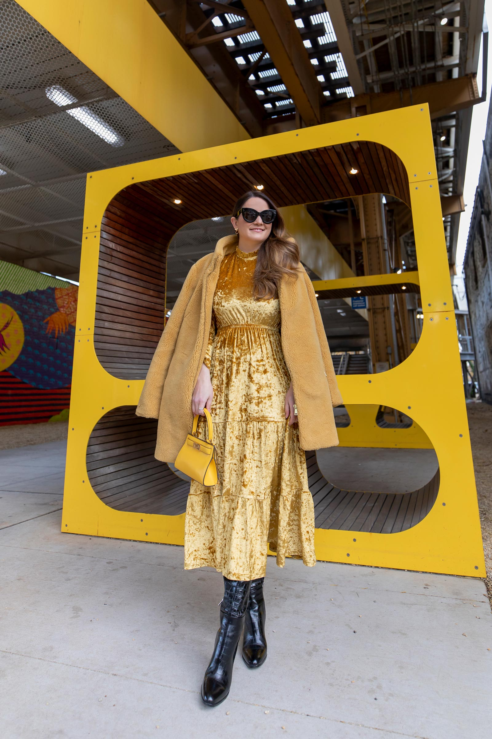 Tuckernuck Yellow Dress