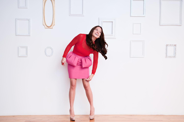 Giambattista Valli Pink Outfit