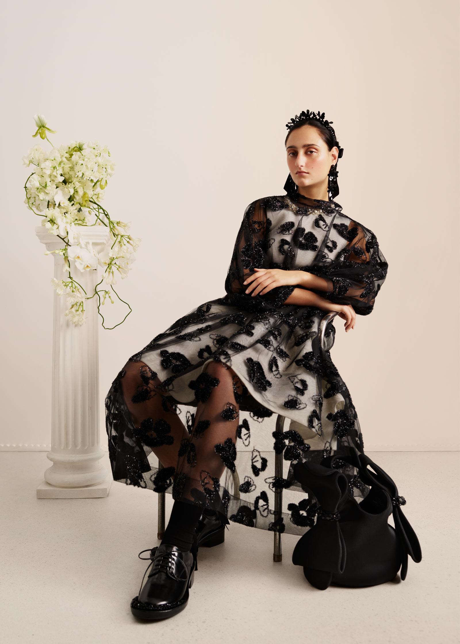 HM Embellished Dress