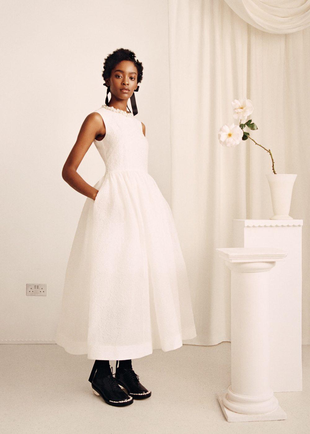 HM Pearl Trim Dress