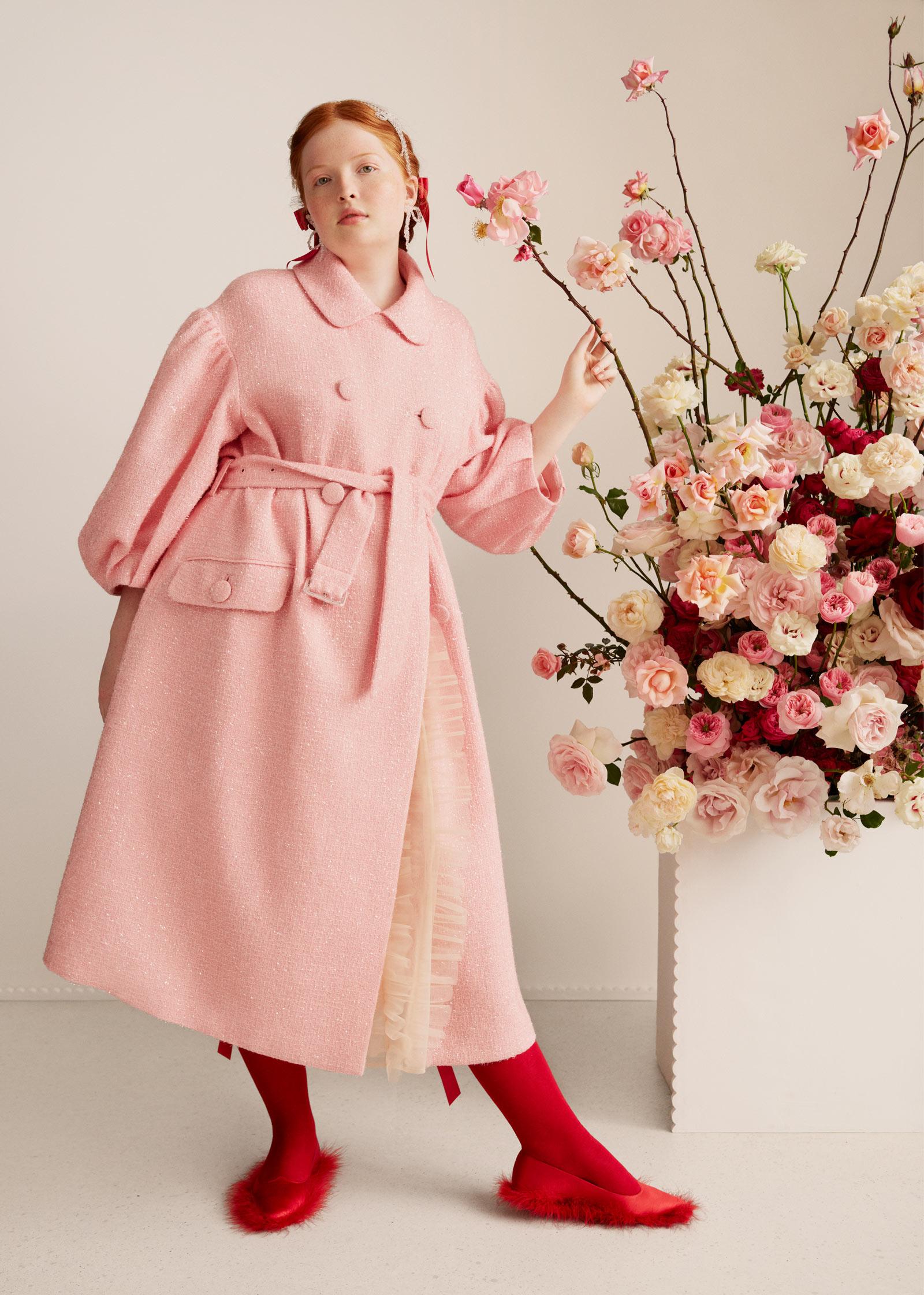 HM Pink Coat