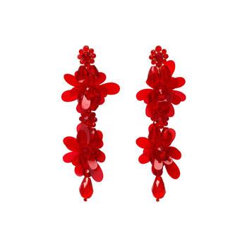 Simone Rocha HM Crystal Earrings