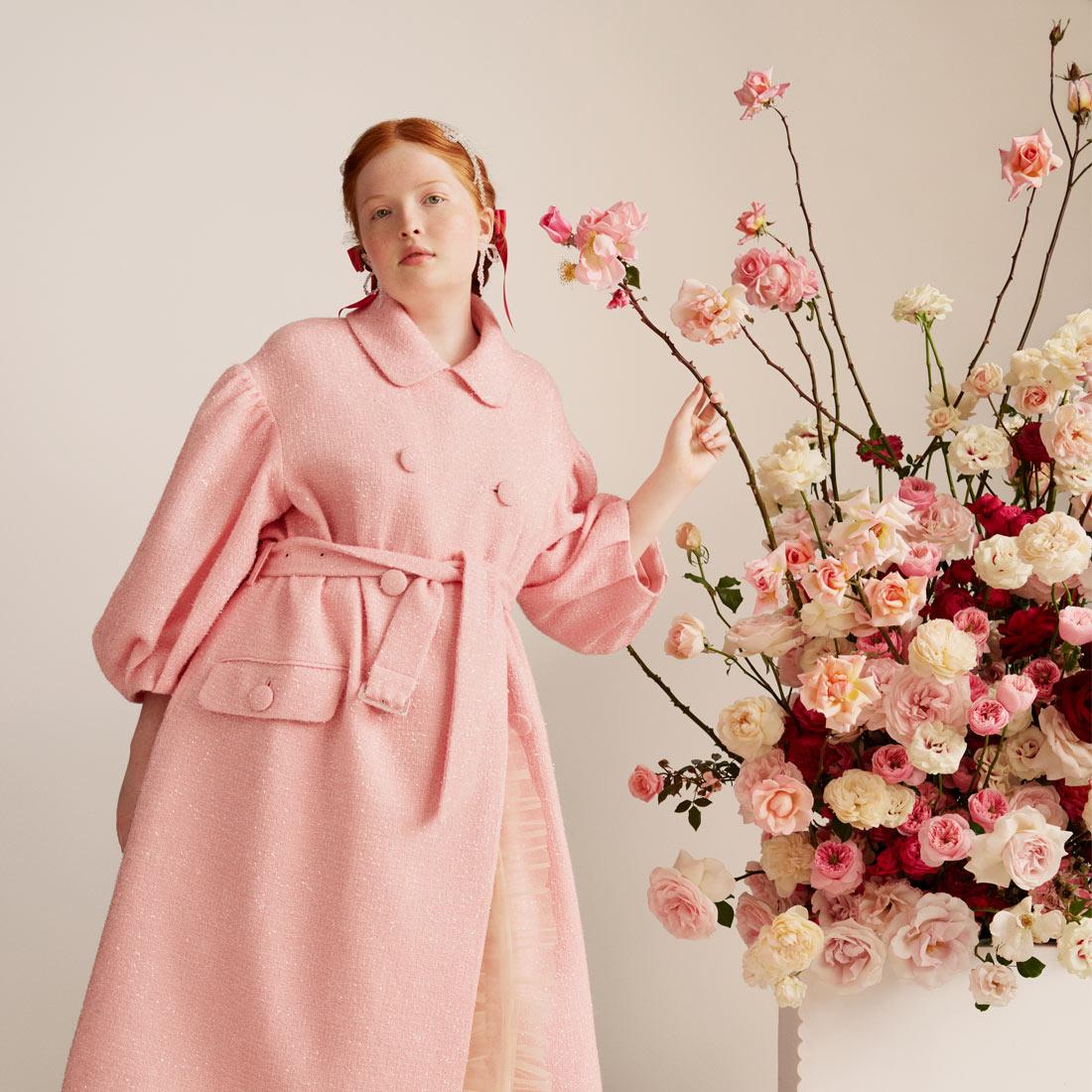 Simone Rocha HM Pink Outerwear