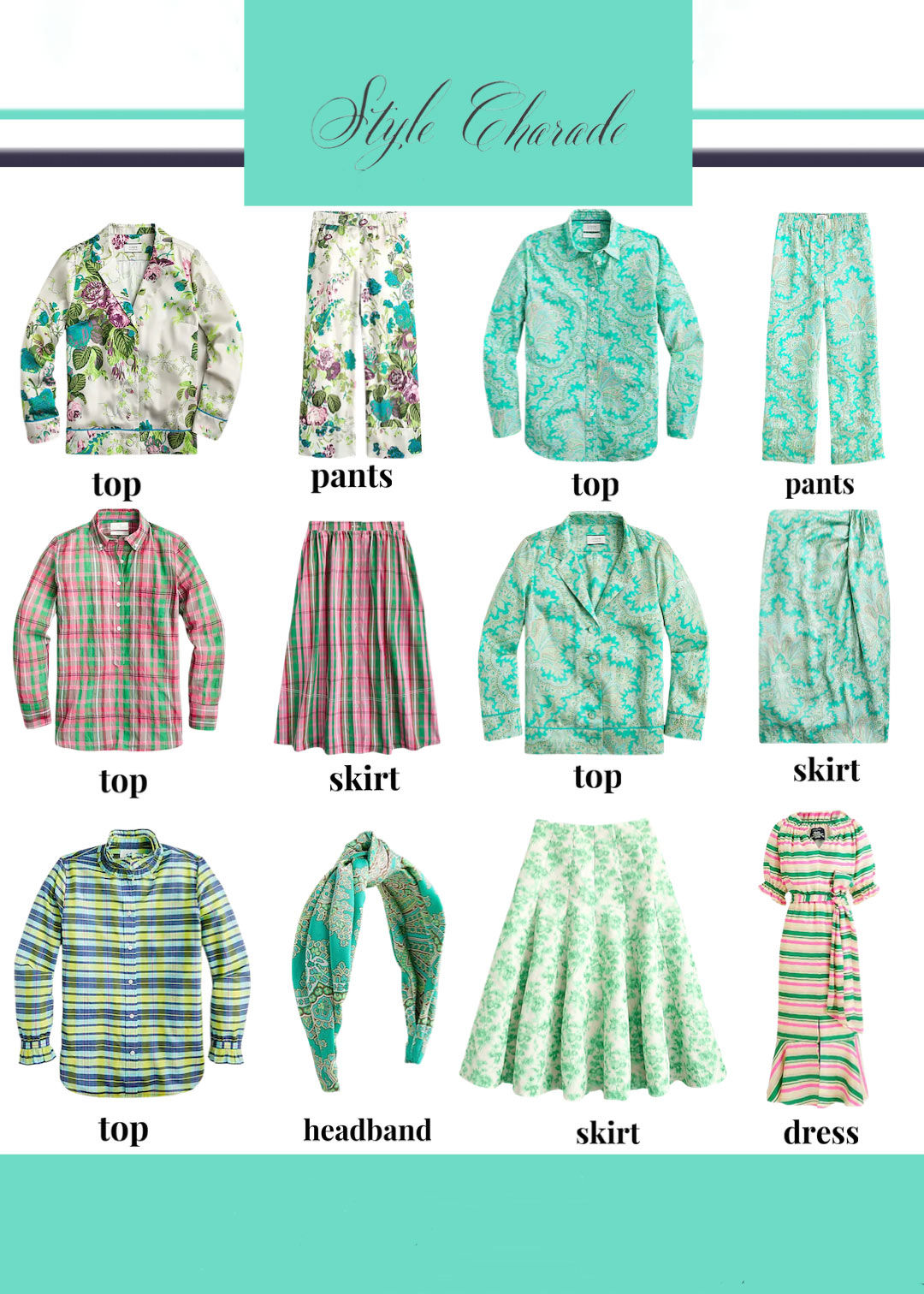 J Crew Spring 2021 Collection