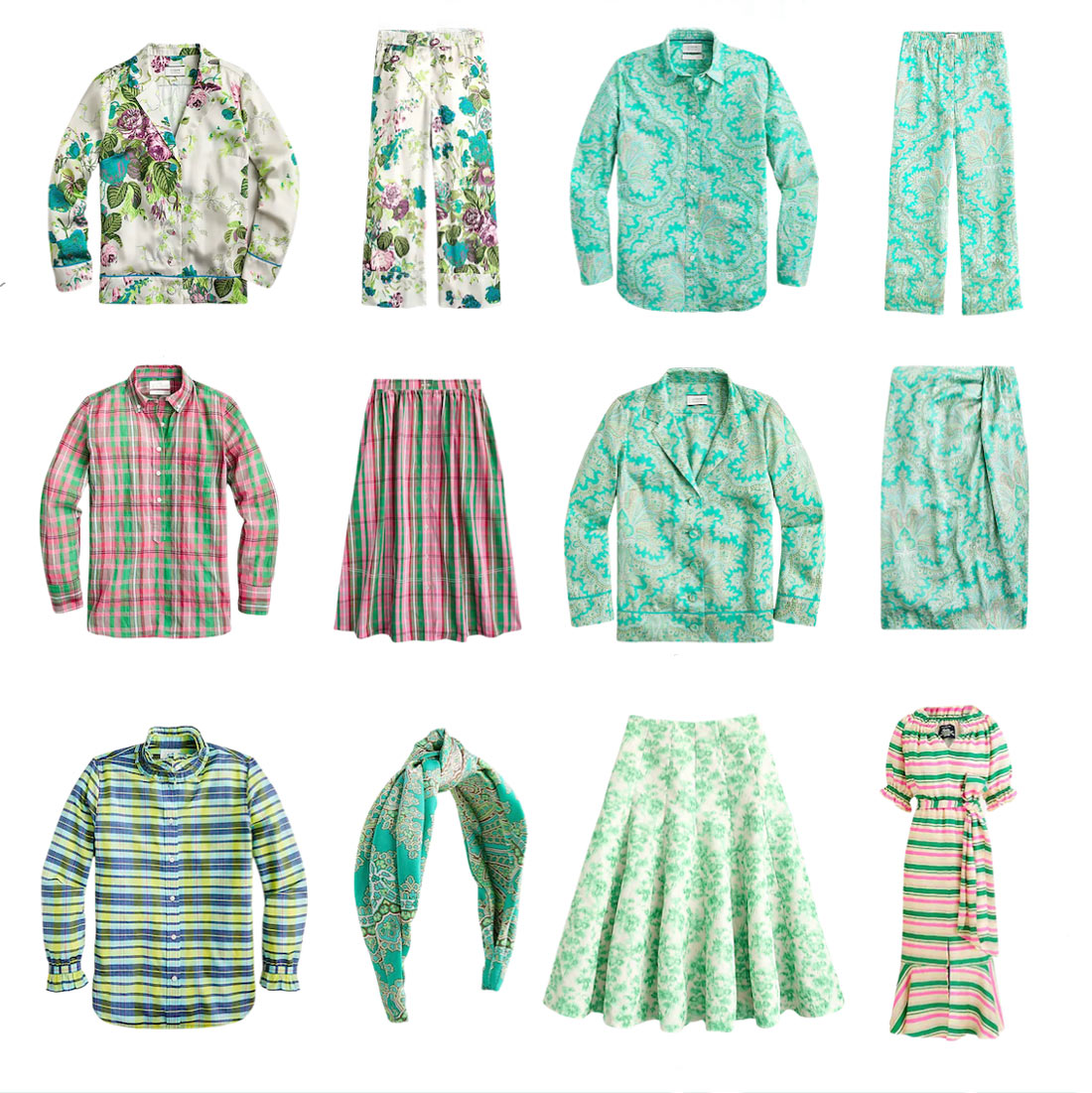 J Crew Spring 2021 Outfits