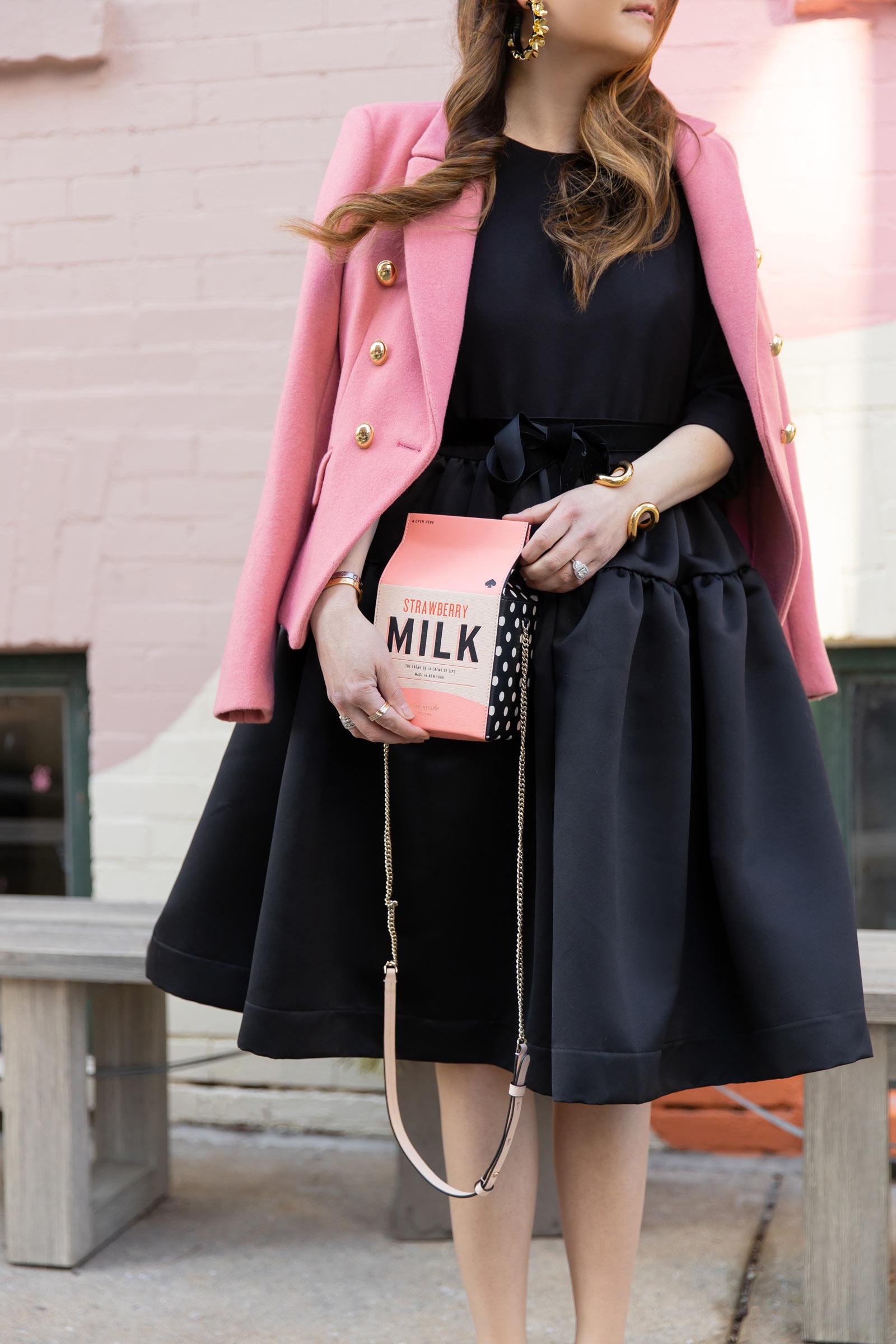 Kate Spade Milk Novelty Bag