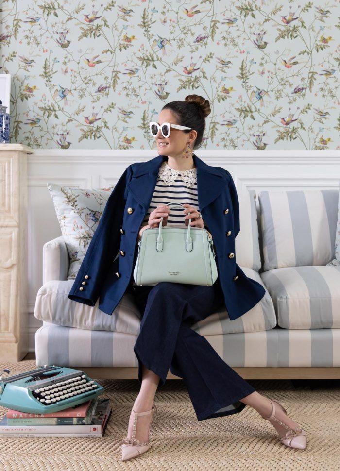 Kate Spade Mint Green Knott Bag