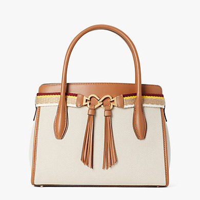 toujours medium satchel two tone