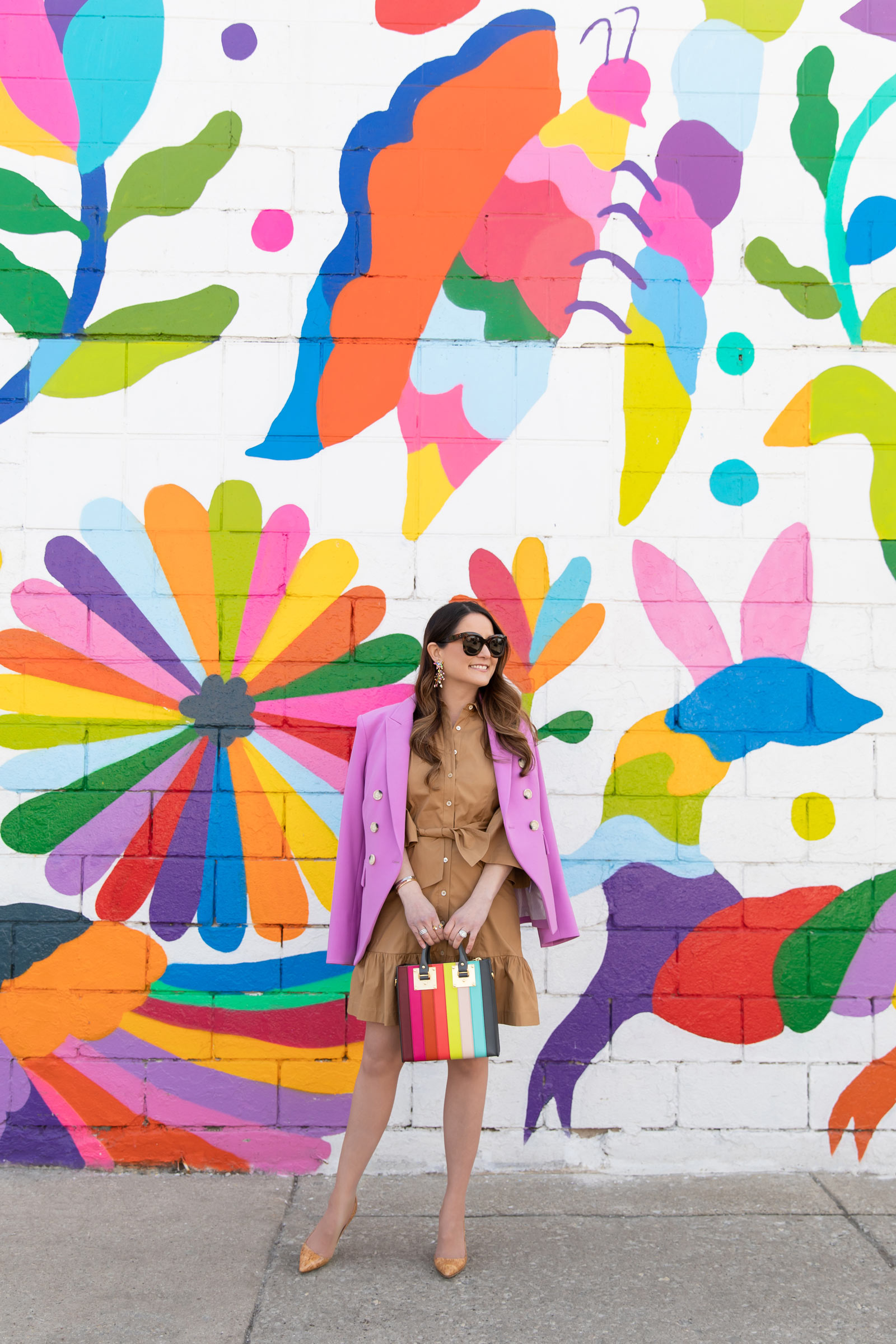 Chicago Otomi Embroidery Mural