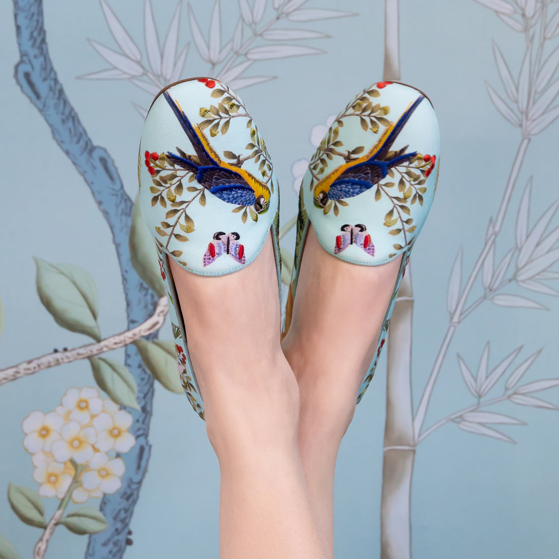 de Gournay Shoes