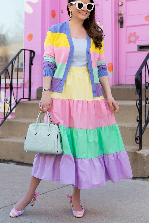 English Factory Pastel Dress