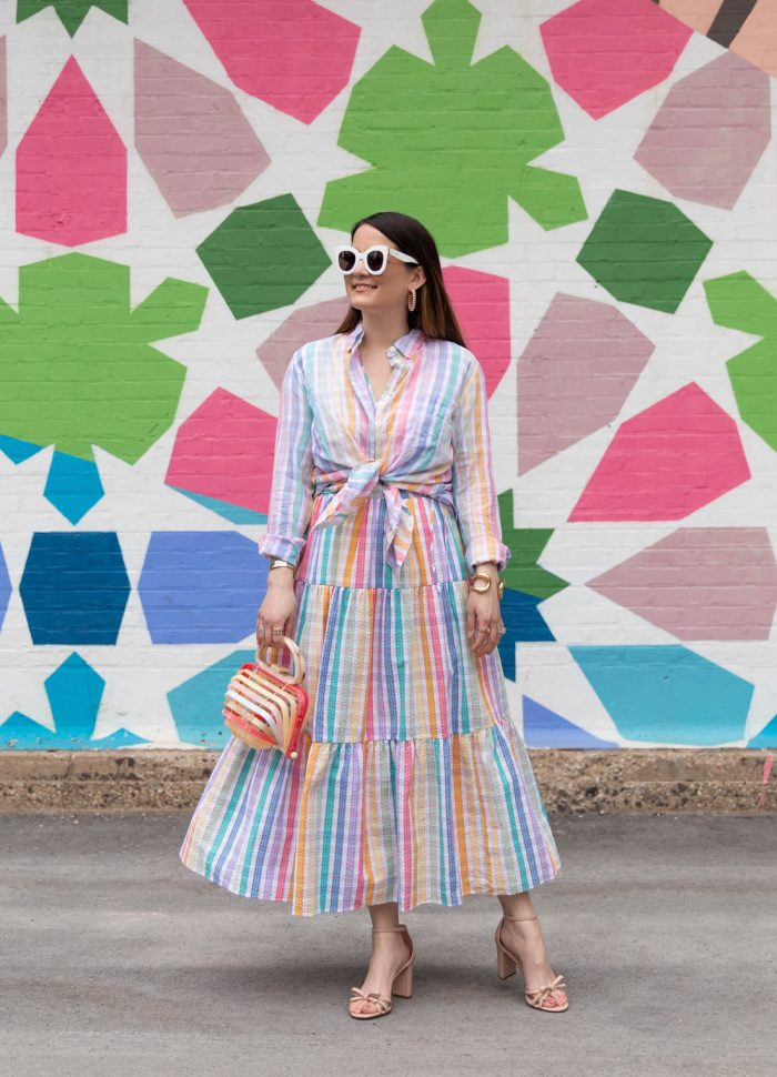 My Favorite Way to Style the New J. Crew Rainbow Gingham Spring 2021 Collection