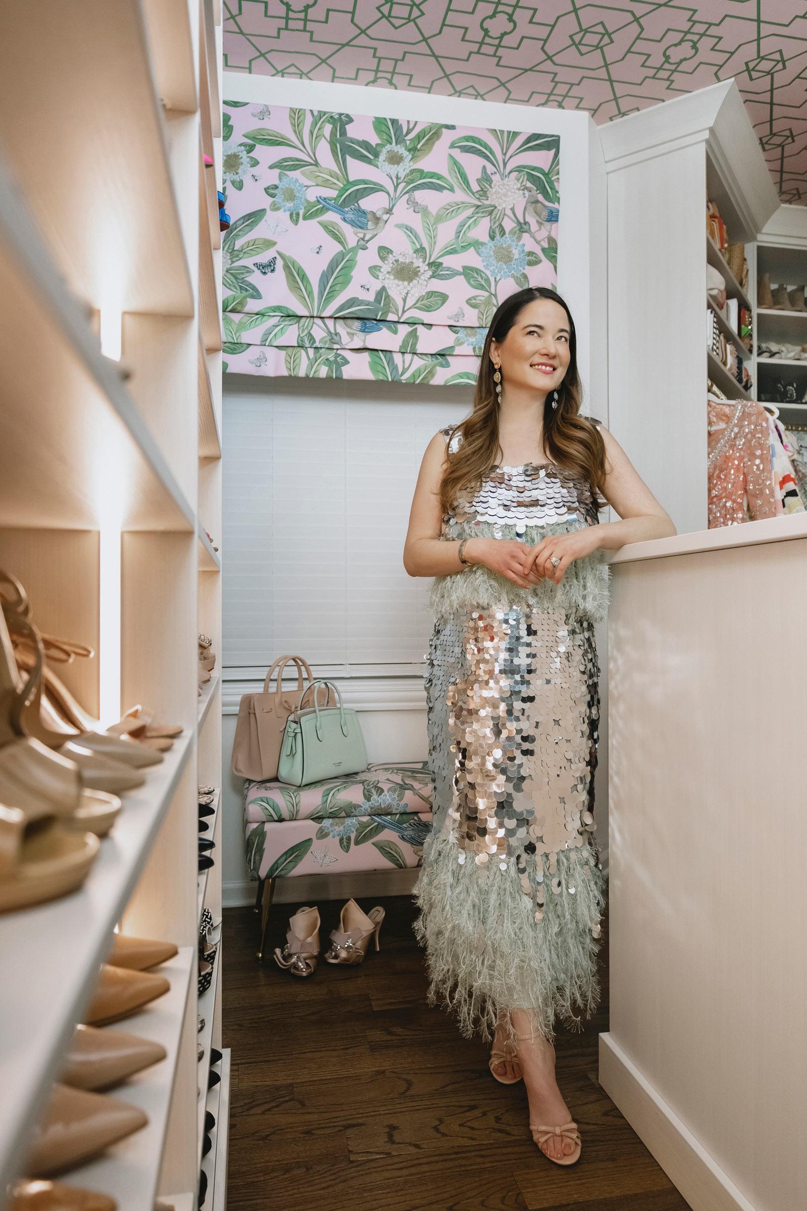 Jennifer Lake ASOS Sequin Dress