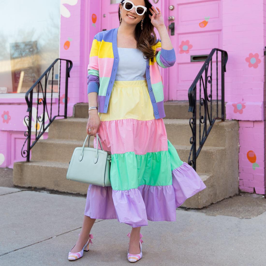 Jennifer Lake English Factory Rainbow