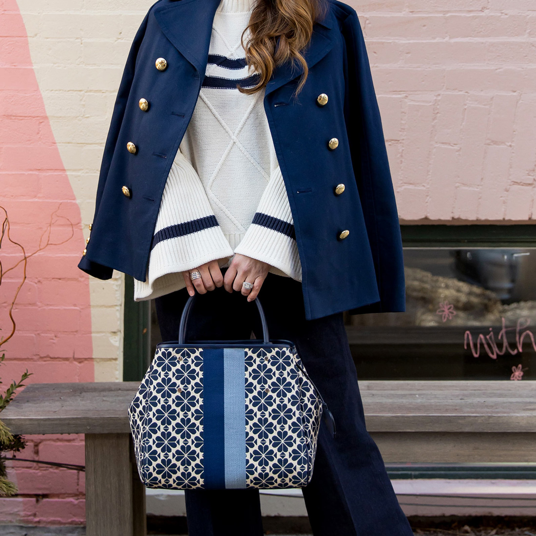 kate spade new york nautical outfit