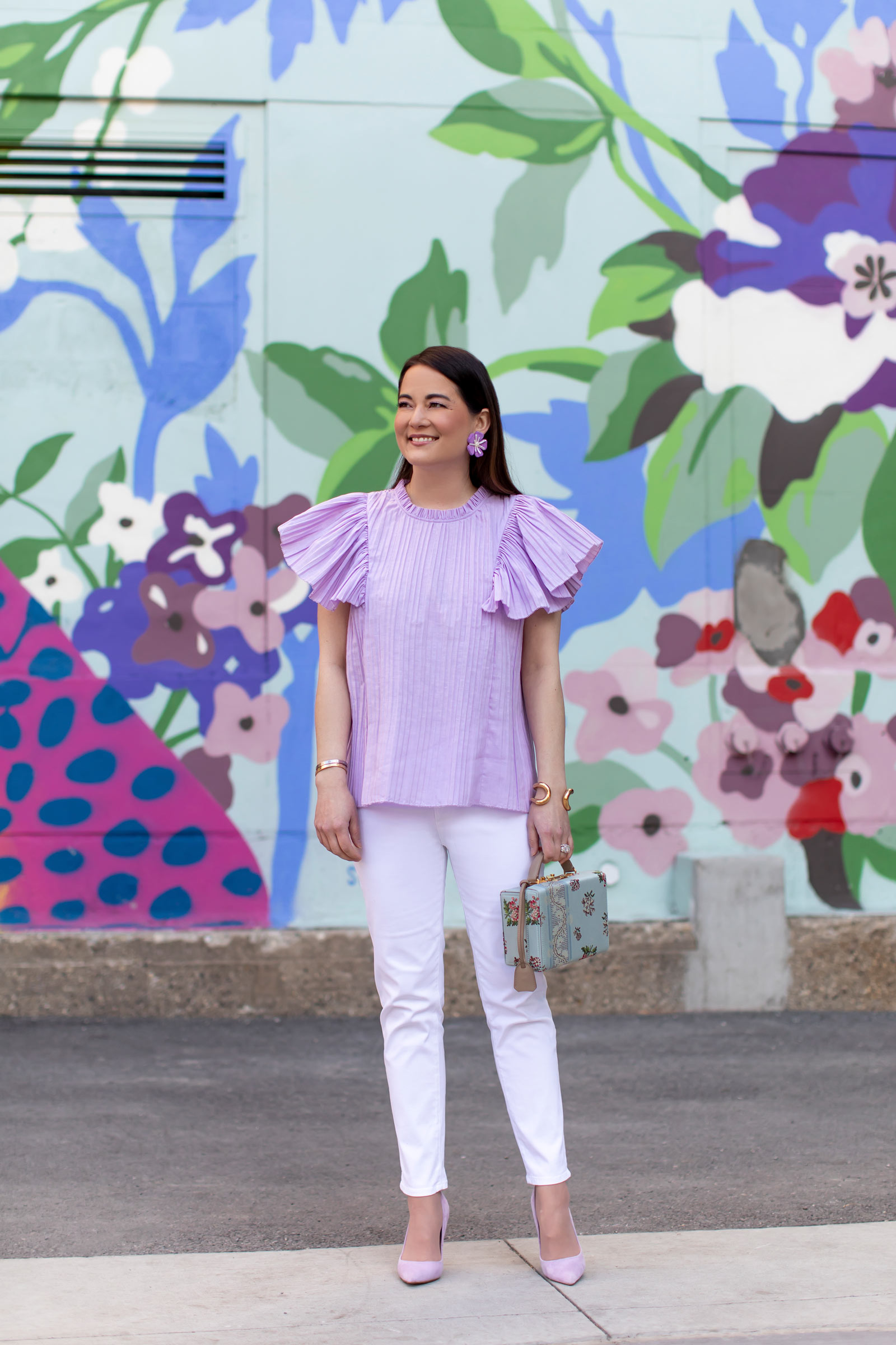Lilac Outfit Styling