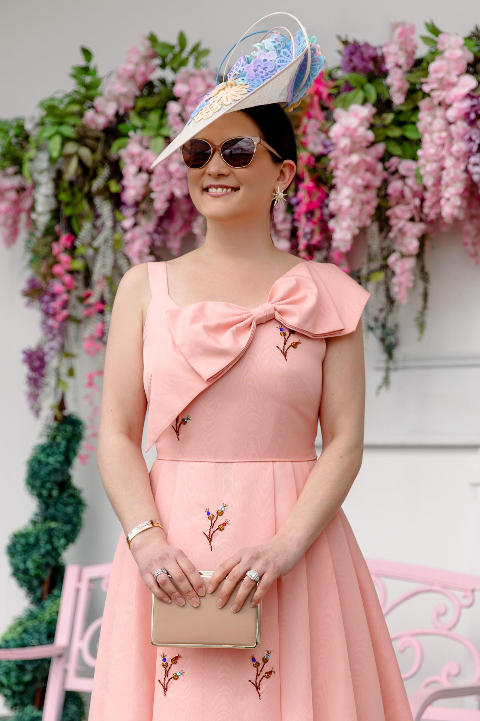 LK Bennett Royal Ascot Pink Dress