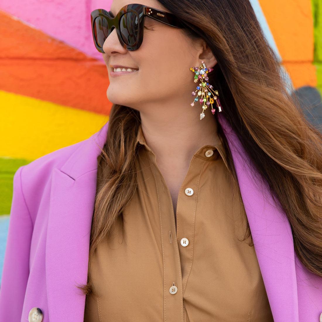 Loren Hope Multicolor Earrings