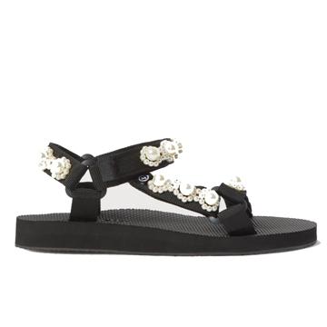 Arizona Love Pearl Embellished Sandal