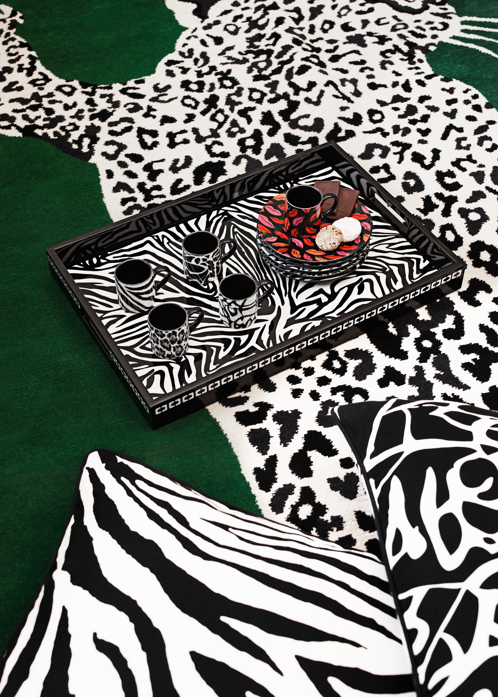DVF H&M Zebra Print Tray