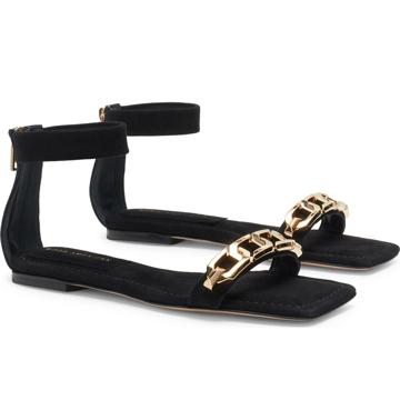 Good American Strappy Sandal