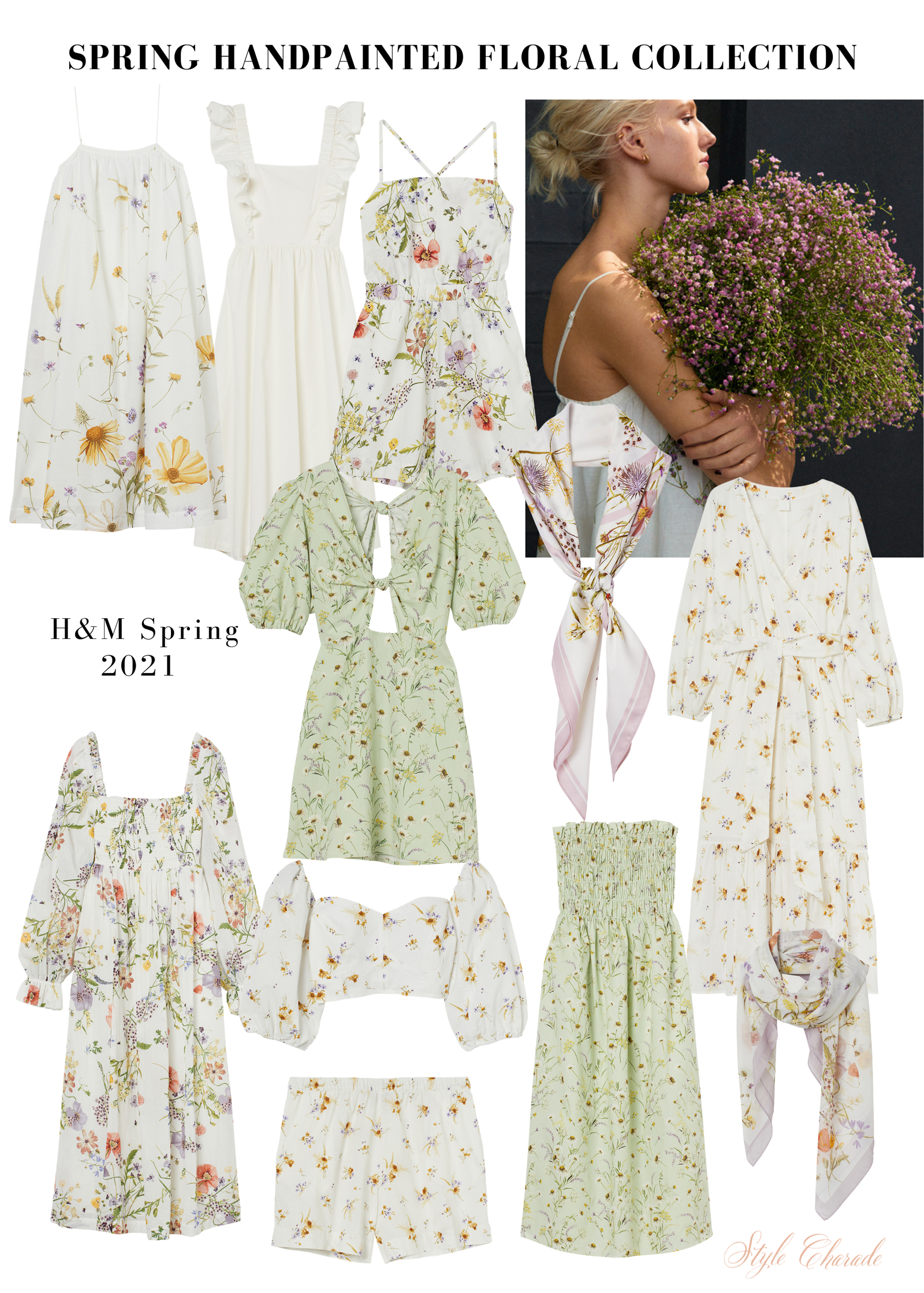 HM Handpainted Floral Collection