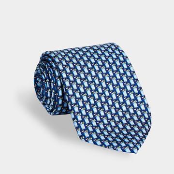 Kentucky Derby Mint Julep Tie
