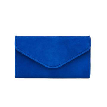 LK Bennett Blue Clutch