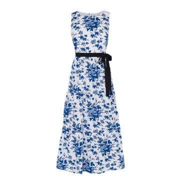 LK Bennett Blue Floral Dress