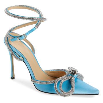 Mach and Mach Blue Heels