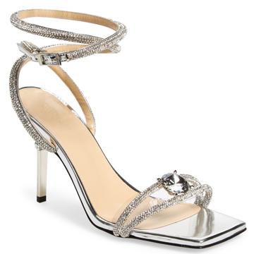 Mach and Mach Silver Sandals