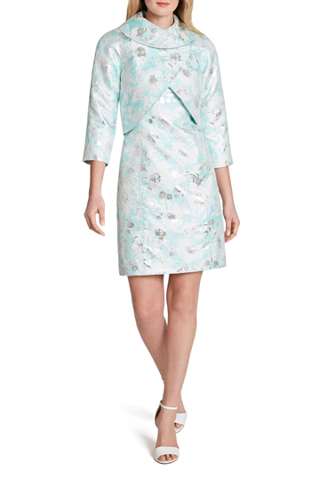 Tahari Floral Jacket Dress