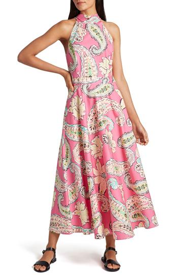 Tahari Paisley Dress