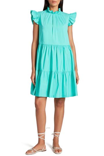 Tahari Ruffle Dress