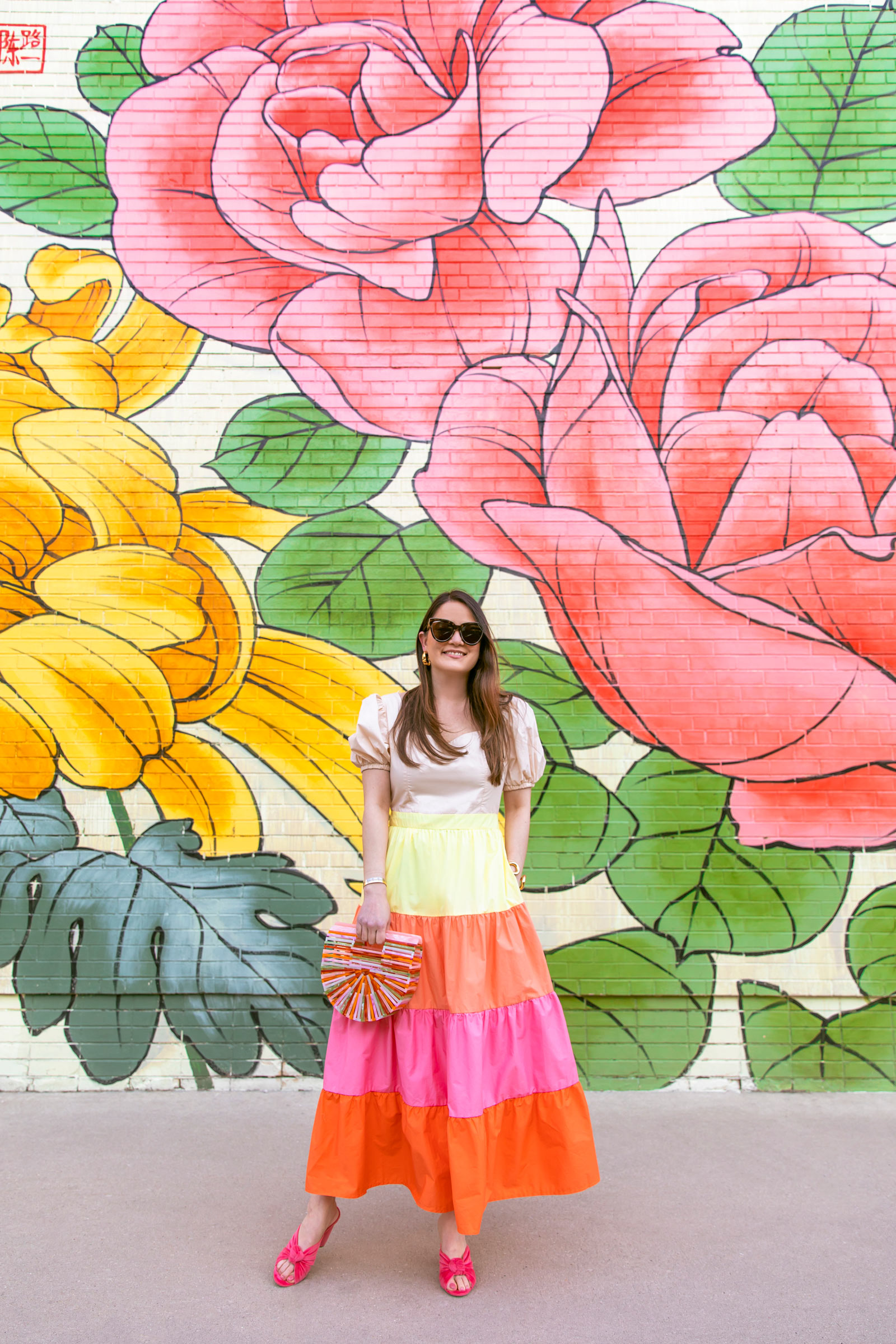Chicago Floral Mural