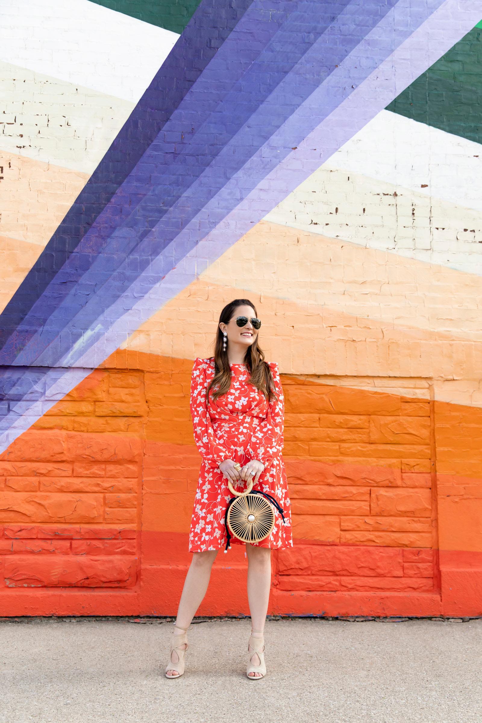 Chicago Stripe Multicolor Mural