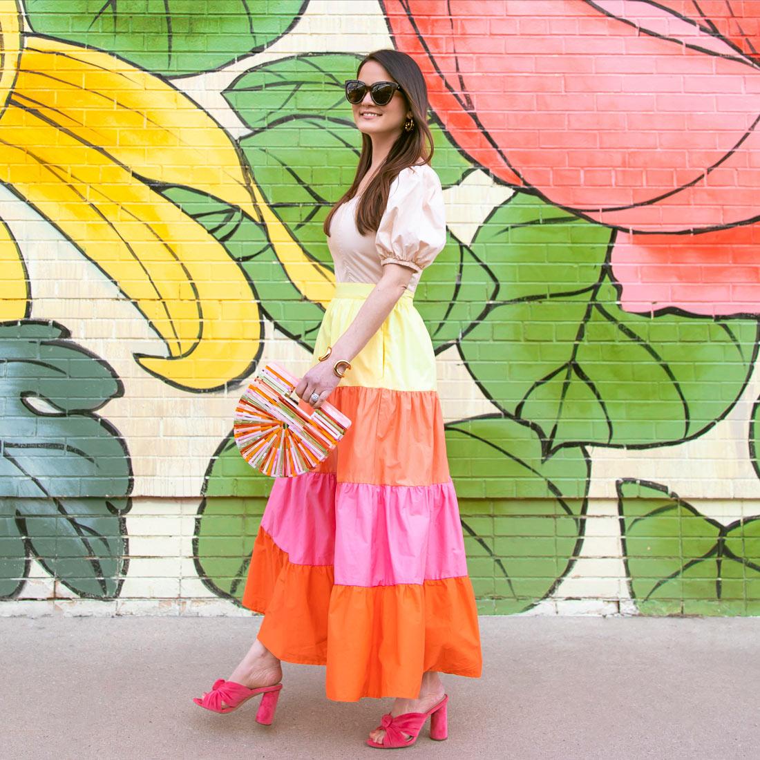 Jennifer Lake English Factory Tiered Dress